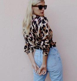ffc99e2ec5 NEVERFULLYDRESSED Chester Shirt ~ Leopard