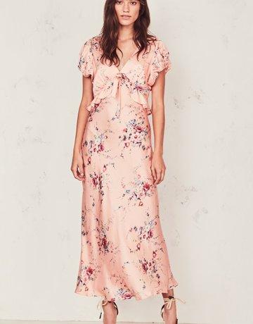 LOVESHACKFANCY Lillian Duchess Dress
