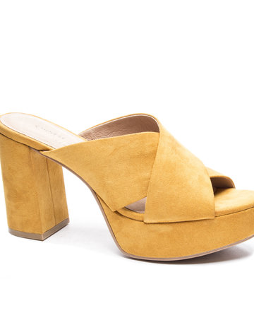 CHINESE LAUNDRY Teagan Heel ~ Mustard