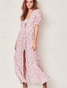 LOVESHACKFANCY Stacy Duster ~ Pink