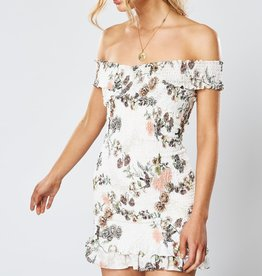 WINONA Hummingbird Shirring Dress
