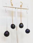 Twiga Freshwater Pearl Dark Drop