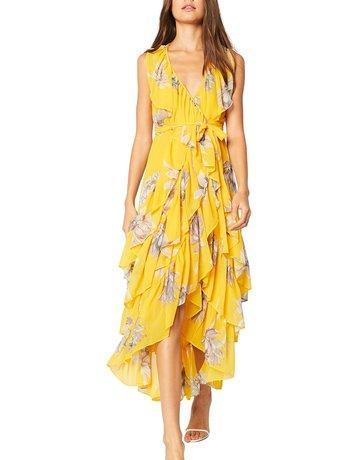 MISA ILUNE Dress ~ Yellow