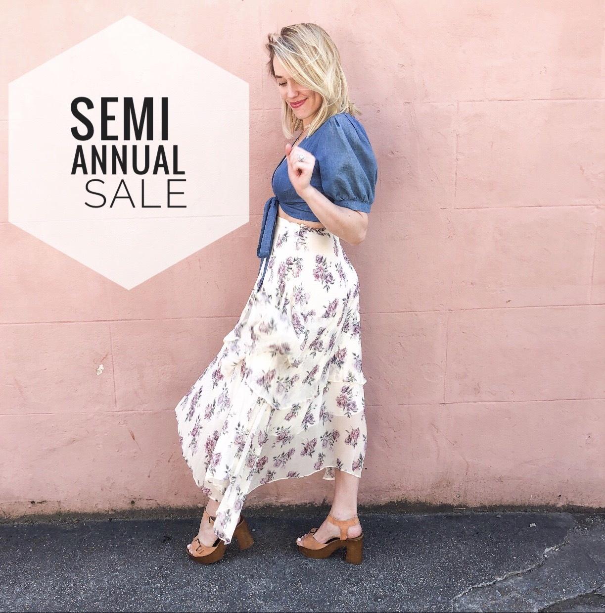 SEMI~ANNUAL SALE