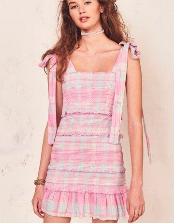 LOVESHACKFANCY Belle Dress Plaid