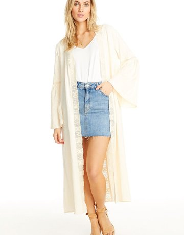 SALTWATER LUXE Duster Vanilla Lace