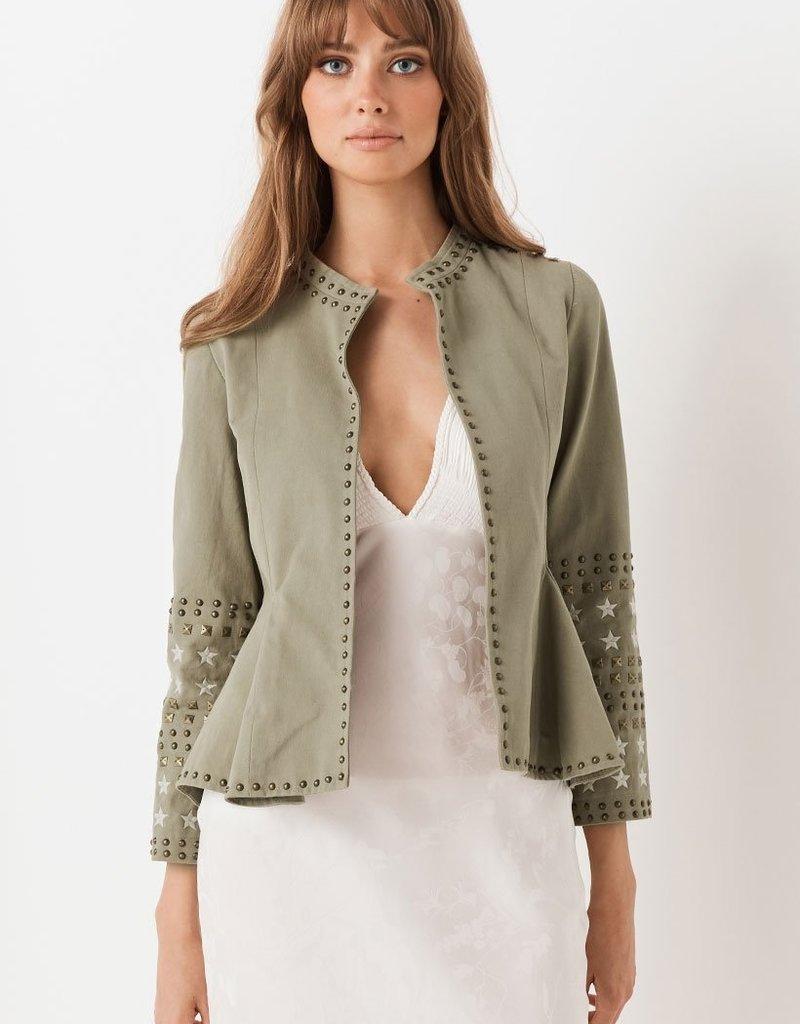 SPELL & THE GYPSY Eagleback Matinee Jacket ~ Khaki
