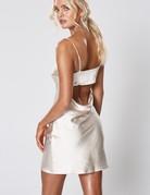 WINONA Veda Mini Dress ~ Pearl