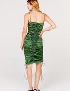 FOR LOVE AND LEMONS Paula Ruched Dress ~ Juniper