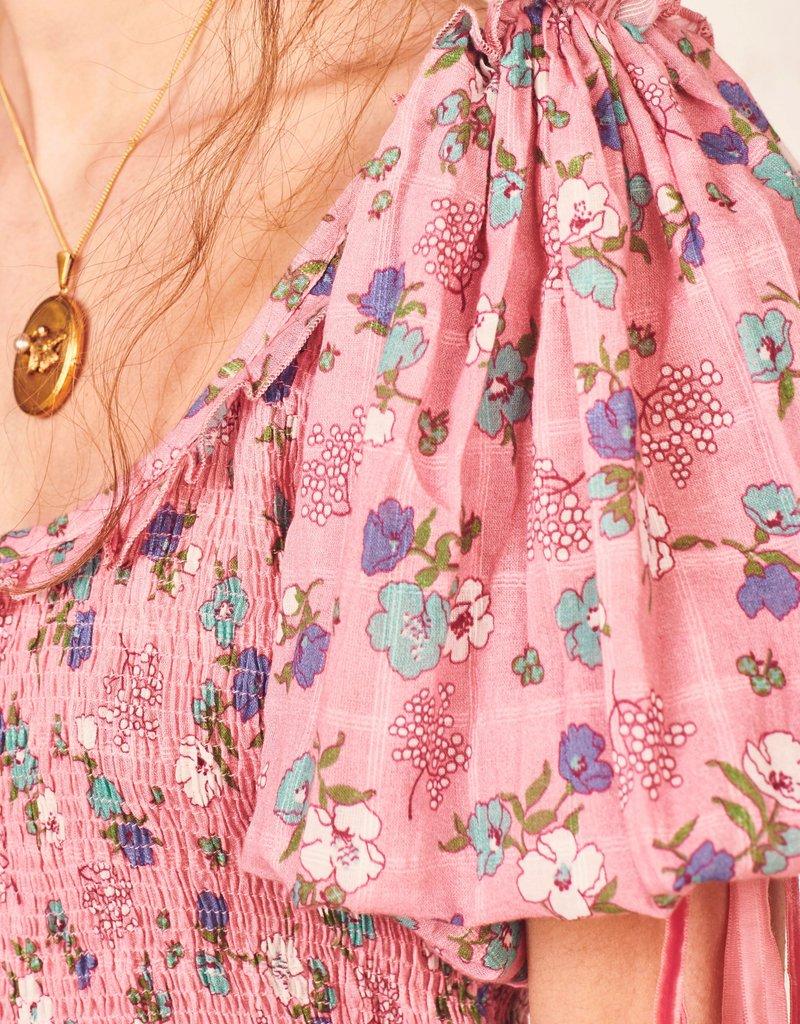 LOVESHACKFANCY Violet Dress Hollywood Pnk