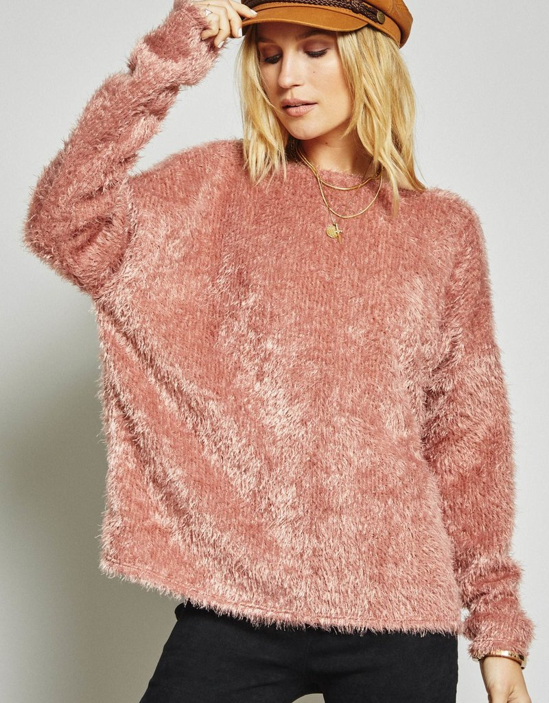 SAGE THE LABEL Twisted Rose Sweater