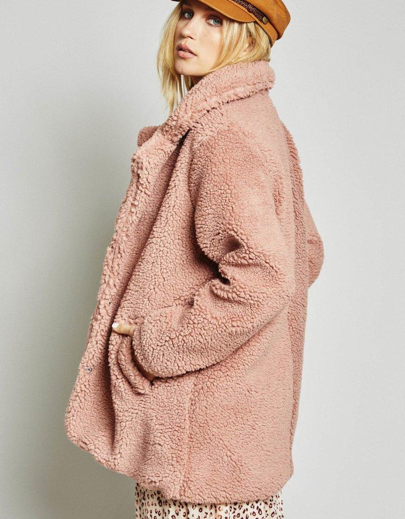 SAGE THE LABEL Revival Coat ~ Rose