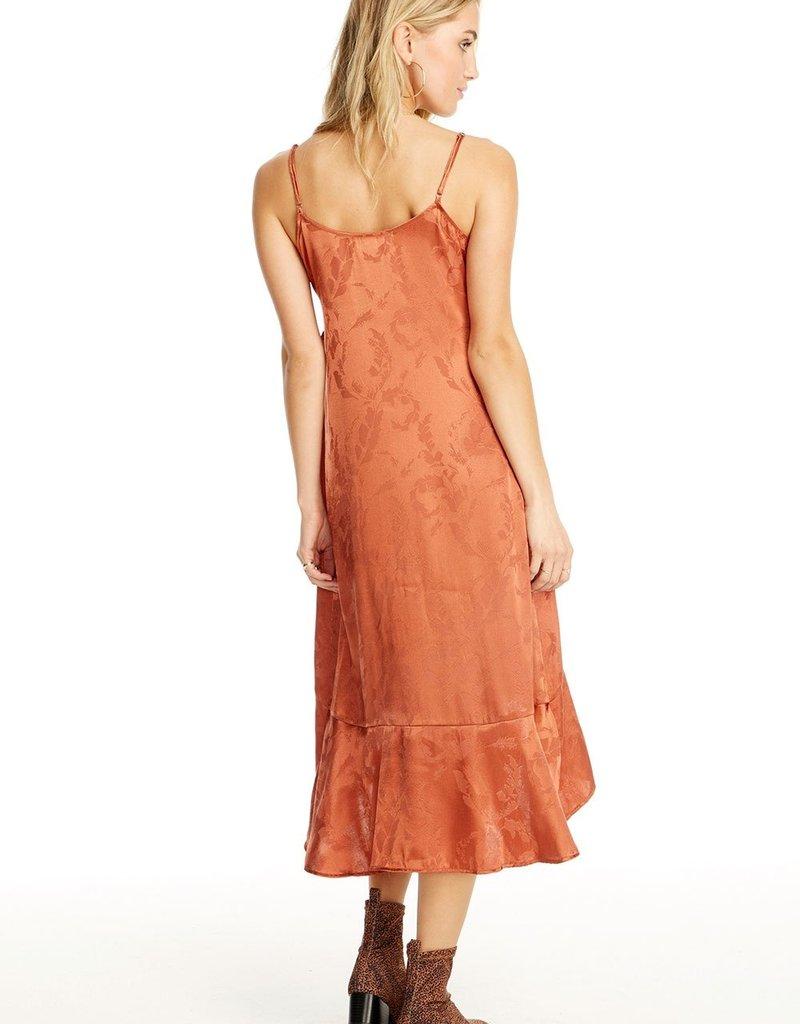 SALTWATER LUXE Ruffled Midi Dress ~ Sienna