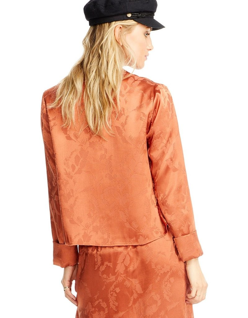SALTWATER LUXE Cropped Jacket ~ Sienna