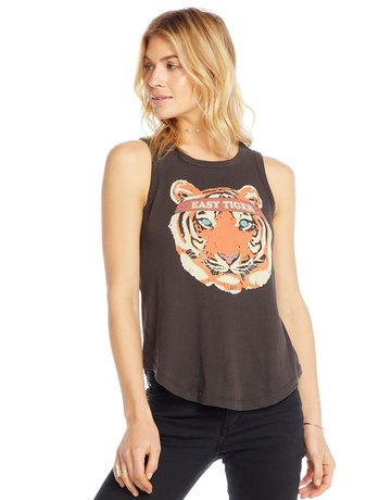 CHASER Tiger Crew Neck