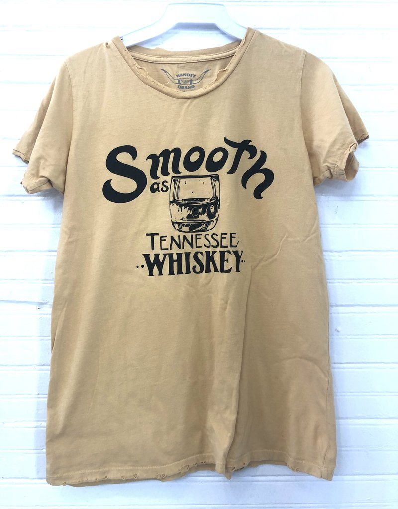 Bandit Brand Smooth as Ten Whiskey Tee