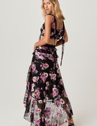 FOR LOVE AND LEMONS Benatar Tiered Ruffle Maxi SKirt