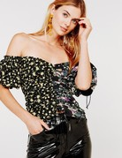 FOR LOVE AND LEMONS Eileen Off the Shoulder Top