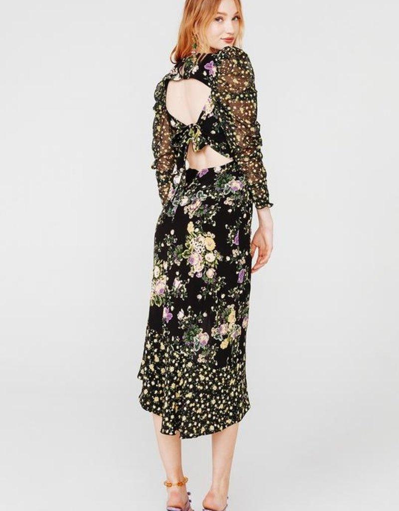 FOR LOVE AND LEMONS Ross Midi Dress