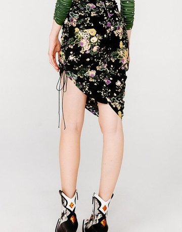 FOR LOVE AND LEMONS Molly Drawstring Skirt