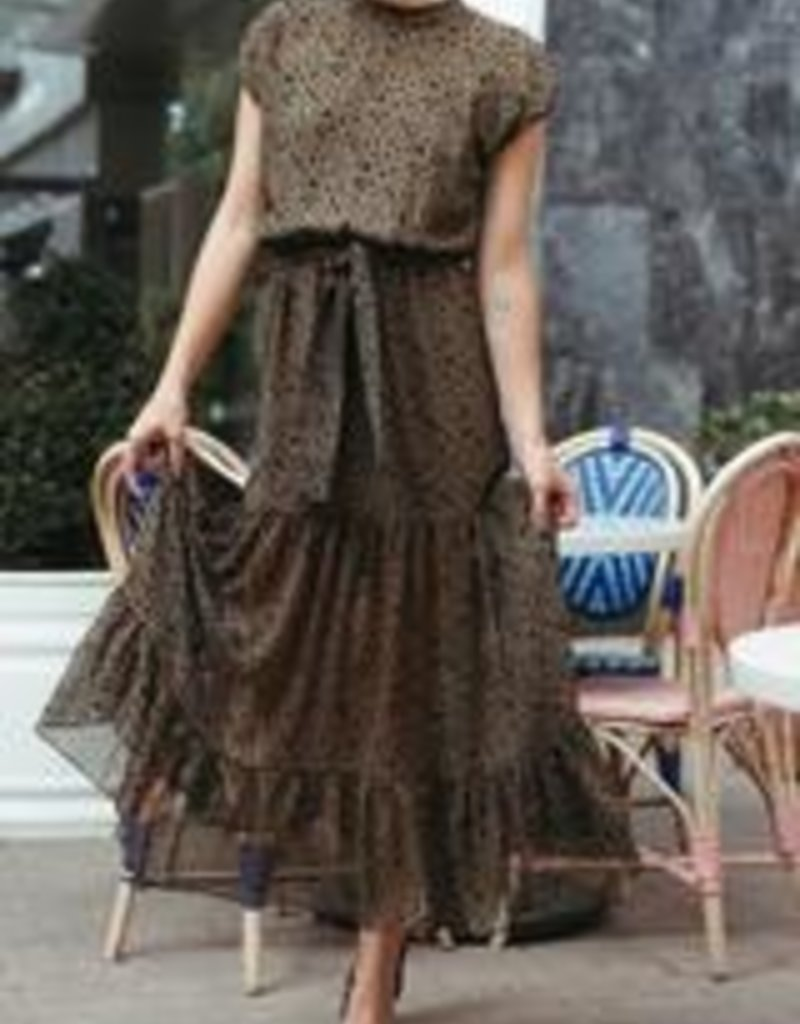 MISA Odessa Dress Green