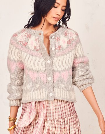 LOVESHACKFANCY Jamie Cardigan ~ Fairy Dust