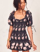 LOVESHACKFANCY Violet Dress ~ Black Coffee