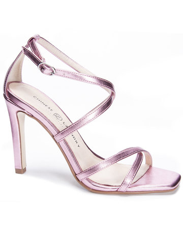 CHINESE LAUNDRY Jaydee Viper Pink Metallic Heel