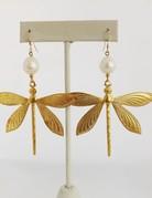 Twiga Dragonfly Pearl Drops