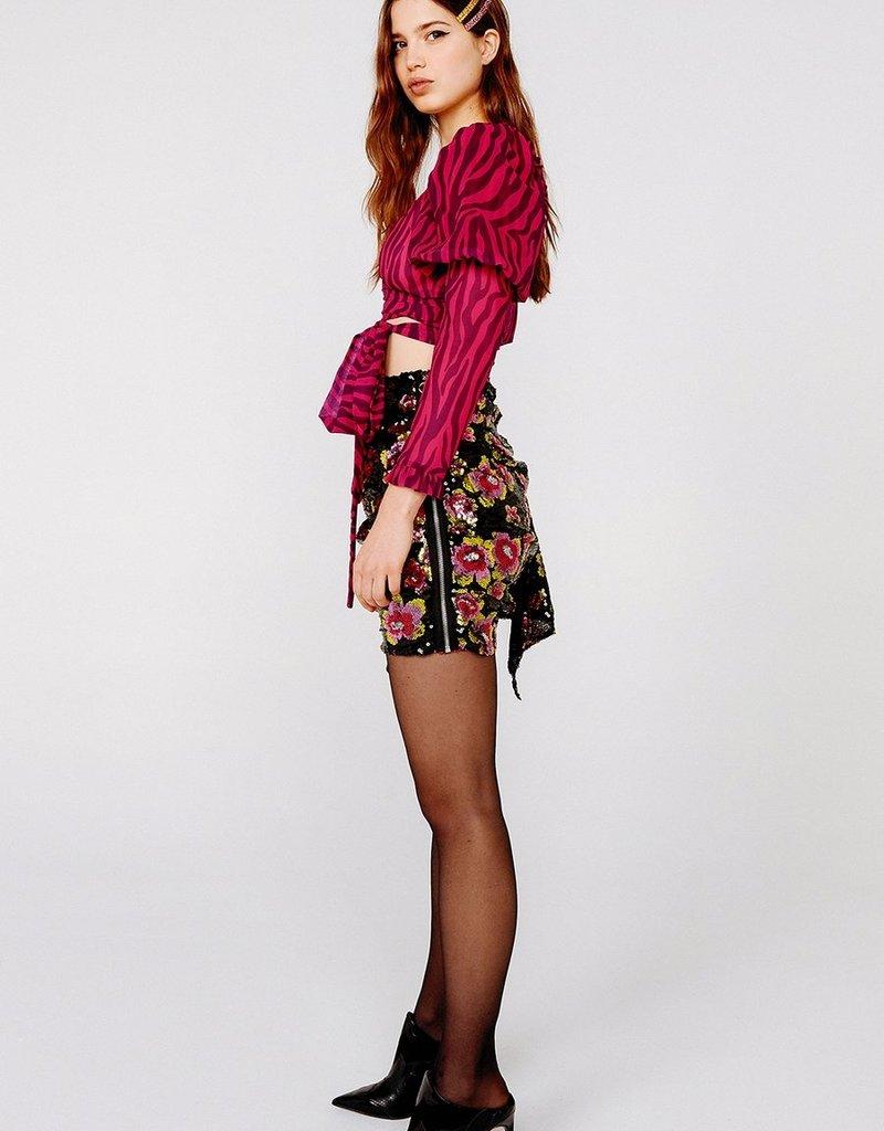FOR LOVE AND LEMONS San Junipero Sequin Skirt