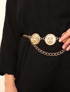 EASTNWESTLABEL LionHeart Belt Gold