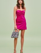 FINDERS KEEPERS Yasmine MINI Dress Fuchsia