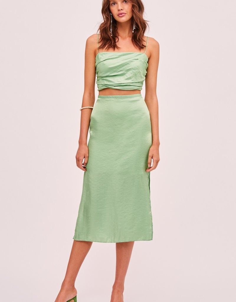 FINDERS KEEPERS Yasmine Skirt Green