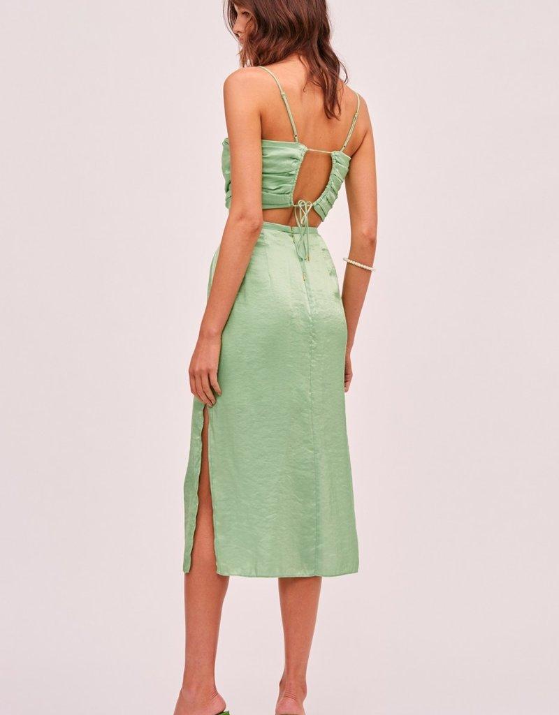 FINDERS KEEPERS Yasmine Skirt Green