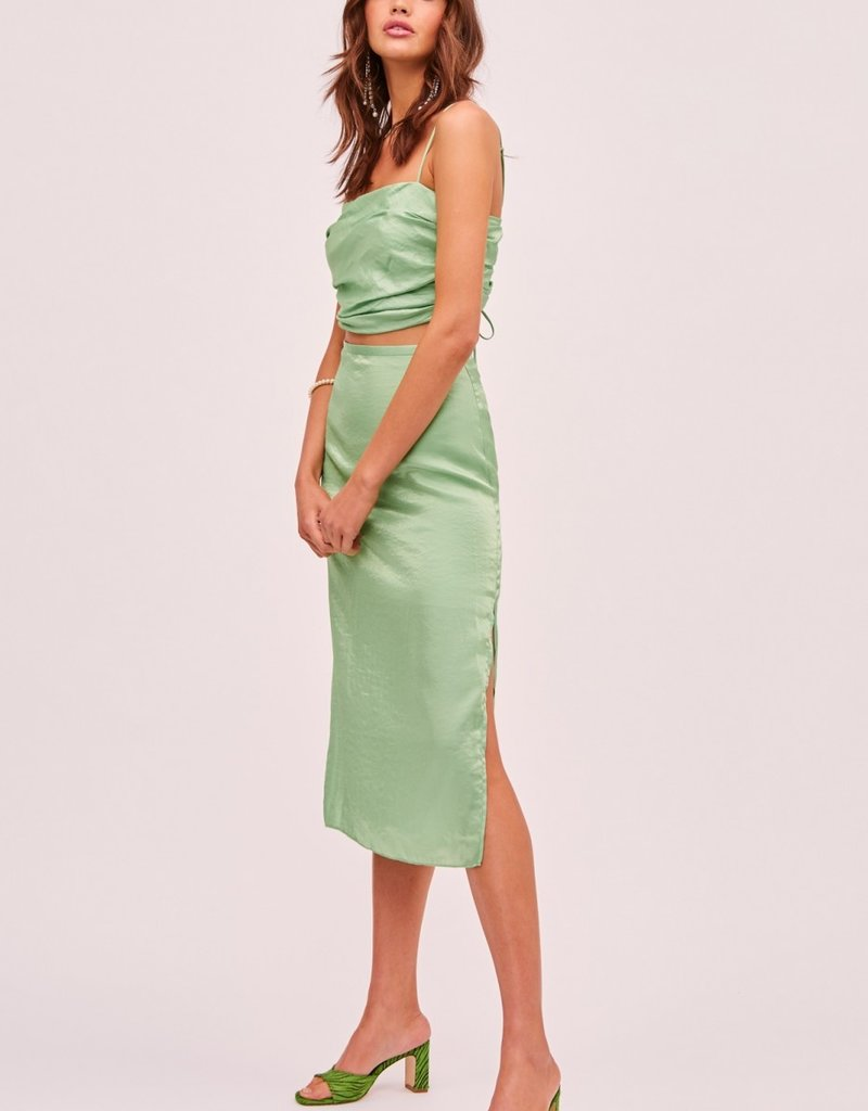 FINDERS KEEPERS Yasmine Bodice Top Green