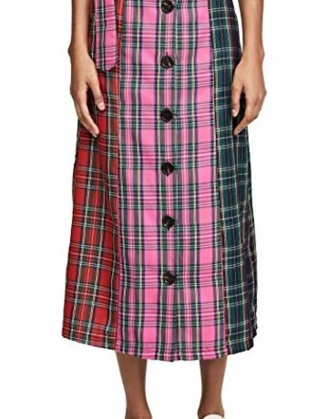 ENGLISH FACTORY Clueless Plaid Skirt