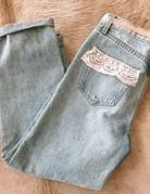 SHAKE YOUR BON BON Custom Vintage Carmar Denim ~ size 26