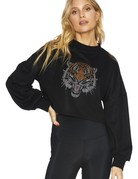 SHAKE YOUR BON BON Bling Bling Tiger Sweater