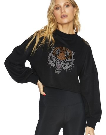 SHAKE YOUR BON BON Bling Bling Tiger Sweater