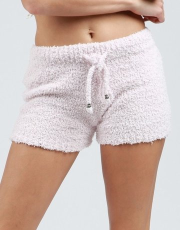 SHAKE YOUR BON BON Cozy Wozy Shorts Blush
