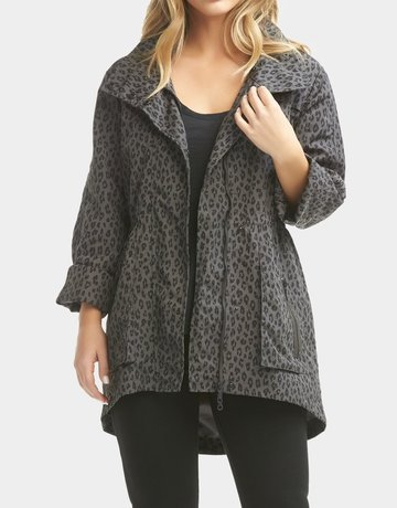 TART Cory Rain Jacket Night Leopard