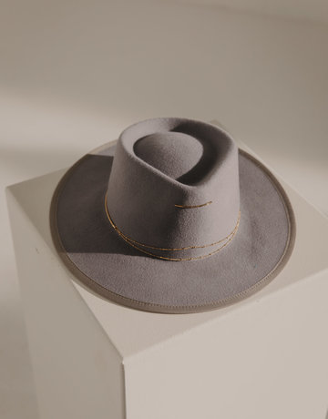 VAN PALMA Anna Hat Light Grey
