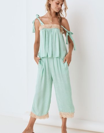 SPELL & THE GYPSY Ocean Pant Seafoam