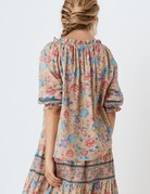 SPELL & THE GYPSY Seashell Short Sleeve Blouse Opal