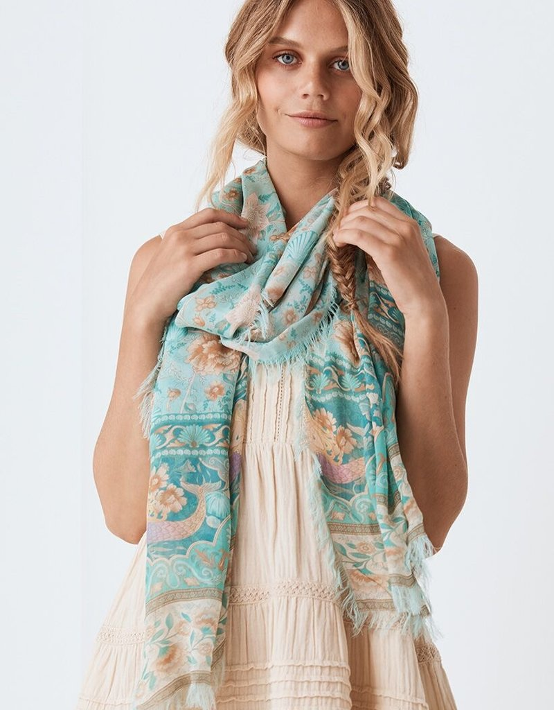 SPELL & THE GYPSY Seashell Travel Scarf