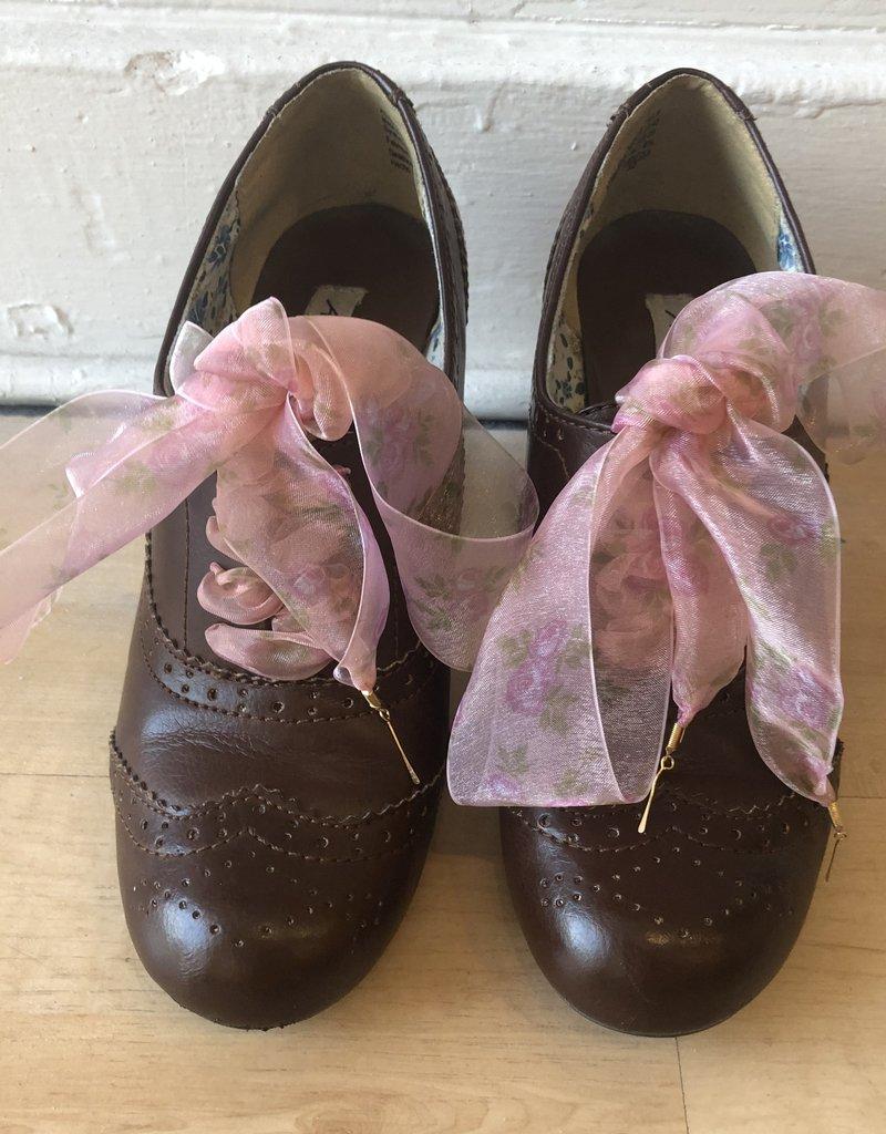 SHAKE YOUR BON BON AEO Vintage Oxford Heel Ankle Bootie 8