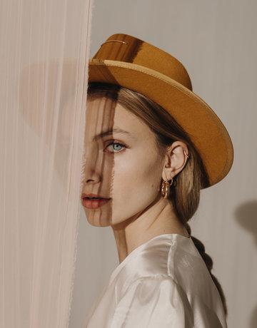VAN PALMA Anna Hat Mustard