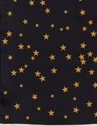 SHAKE YOUR BON BON Night Sky Silky Scarf Black