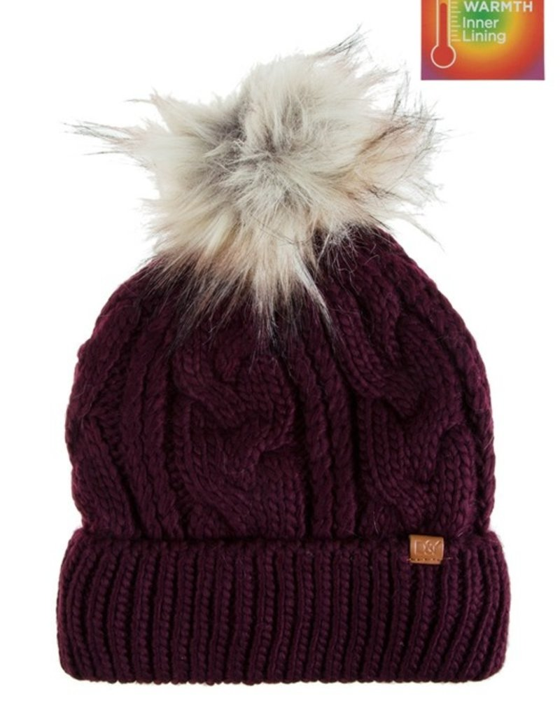 SHAKE YOUR BON BON Toasty Cozy Beanie