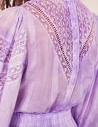 LOVESHACKFANCY Viola Dress Lavender